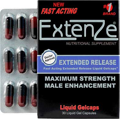 Extenze nutritional supplement for male enhancement