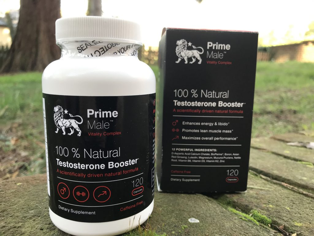 prime male recommended testosterone boosters